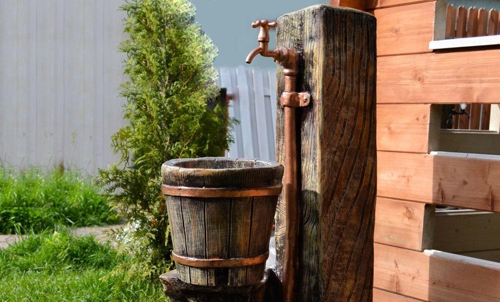 Качественный дачный умывальник с подогревом воды: комфорт в любое время года