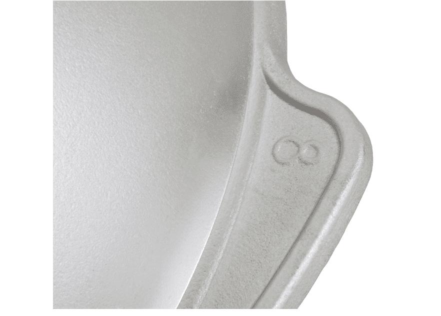 Алюминиевый казан 8 л. Kukmara, без покрытия, к85, плоское дно - фото 10437