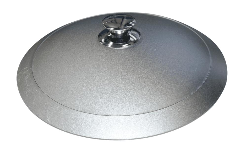 Алюминиевый казан 8 л. Kukmara, без покрытия, к85, плоское дно - фото 10438