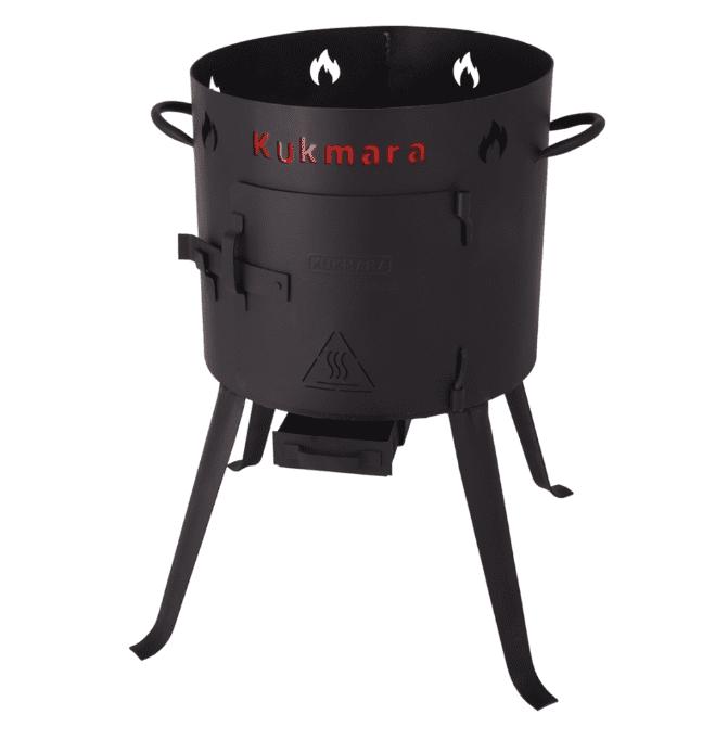 Печь под казан 8 литров Кукмара, d-322 мм. ук07 - фото 11049