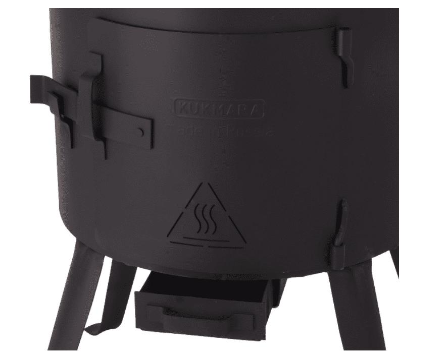 Печь под казан 8 литров Кукмара, d-322 мм. ук07 - фото 11052