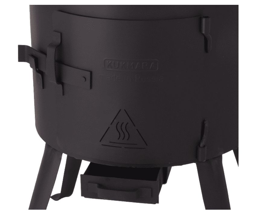 Печь (учаг) под казан 18-25 литров Kukmara, d-452 мм. ук15 - фото 11060
