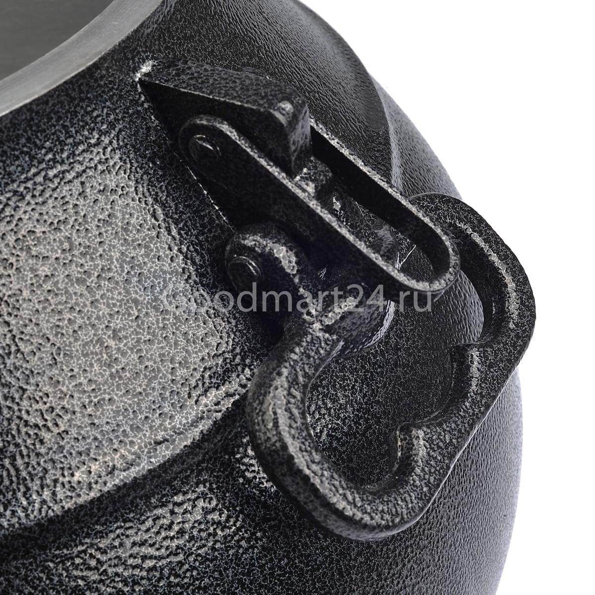 заказать Афганский казан-скороварка 15 литров чёрный алюминиевый