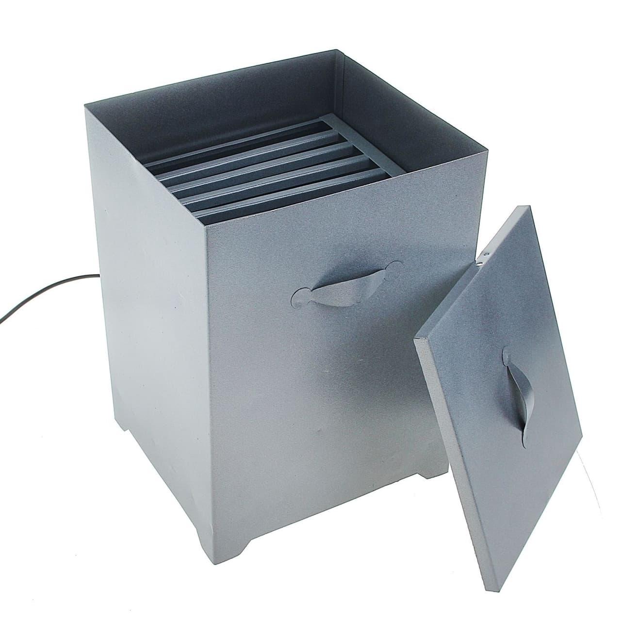Коптильня двухуровневая электрическая Электромаш - фото 5046
