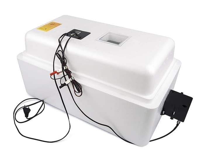 Инкубатор Несушка 36 яиц 220/12 В, автомат. пов., цифр. терм.,гигрометр арт. 45Г - фото 5496