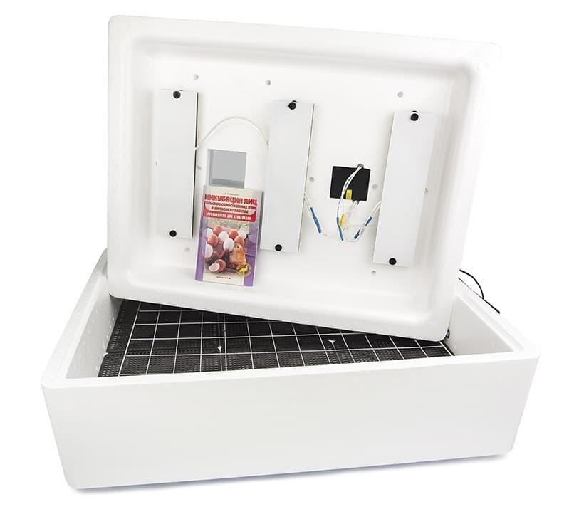 Инкубатор Несушка 77 яиц 220/12 В, автомат. пов., цифр. терм.,гигрометр БИ-2 (М) - фото 5505