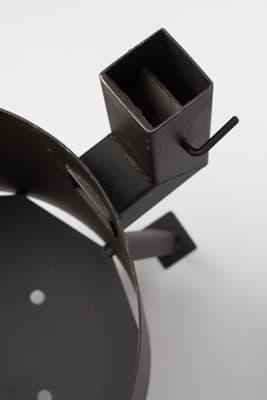 Комплект: Чугунный казан 10 л. Балезинский ЛМЗ + Печь с трубой D-360 мм s-2 мм. - фото 5539