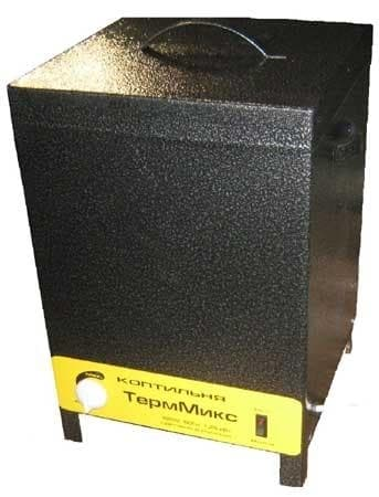 Электрическая коптильня 1 кВт с терморегулятором ТермМикс - фото 5545
