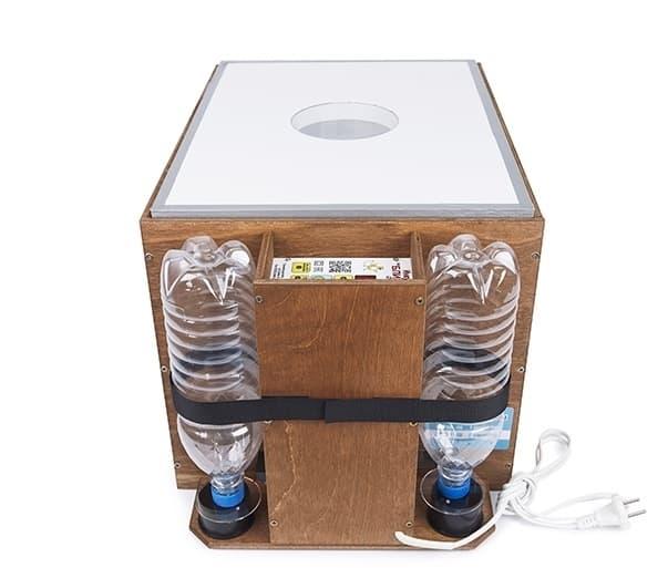 Инкубатор БЛИЦ 48 цифровой, 220/12В, автомат.поворот, рег. влажности - фото 5602