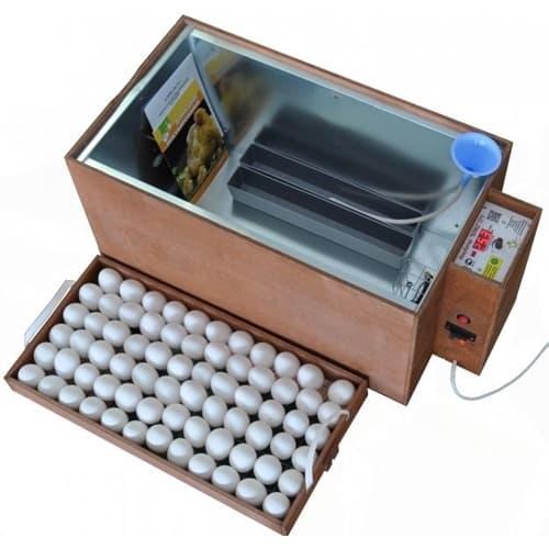 Инкубатор БЛИЦ 72 аналоговый, 220/12В, автомат.поворот, рег. Влажности - фото 5606