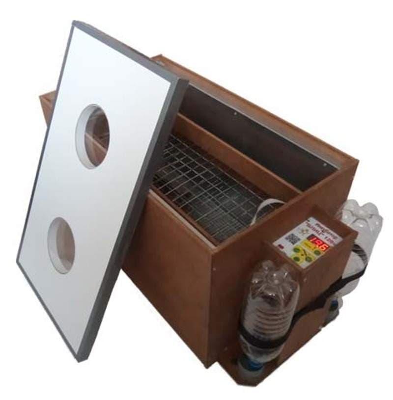 Инкубатор БЛИЦ 120 цифровой, 220/12В, автомат.поворот, рег. влажности - фото 5622