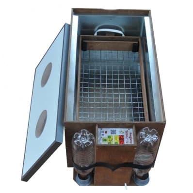 Инкубатор БЛИЦ 120 цифровой, 220/12В, автомат.поворот, рег. влажности - фото 5623