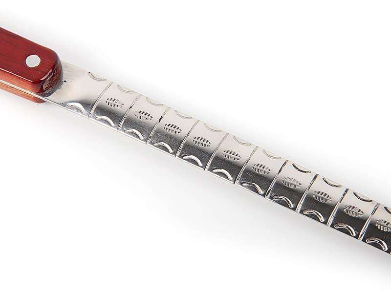 Половник для казана (10-25 л.) с деревянной ручкой 46.5 см - фото 5980