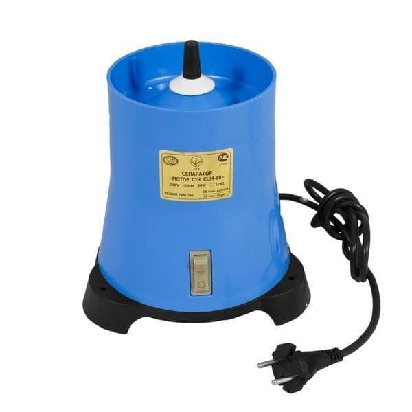 Сепаратор для молоко Мотор Сич 100-19, 100 л/ч, пласт. корпус, пласт. чаша - фото 6041