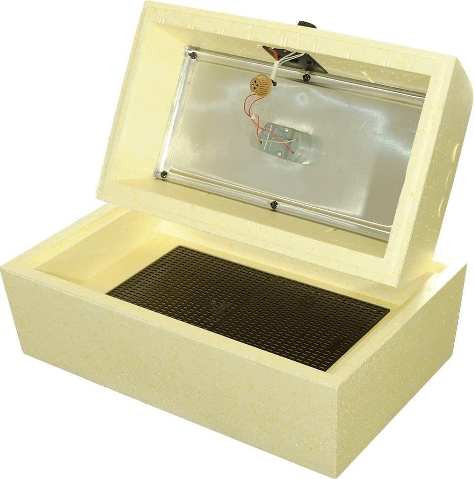 Инкубатор Золушка 45 яиц, ручной переворот,220/12В, цифровой терм. - фото 6158