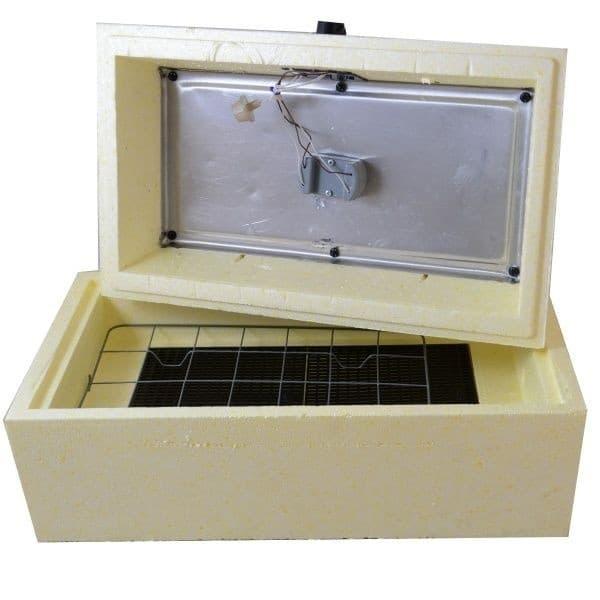 Инкубатор Золушка 28 яиц, автопереворот, 220/12В, аналоговый терм., гигрометр - фото 6187