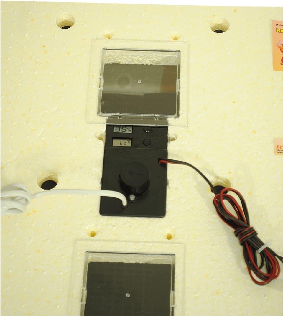 Инкубатор Золушка 28 яиц, автопереворот, 220/12В, аналоговый терм., гигрометр - фото 6193