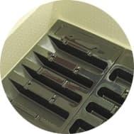 Инкубатор Золушка 28 яиц, автопереворот, 220/12В, аналоговый терм., гигрометр - фото 6195