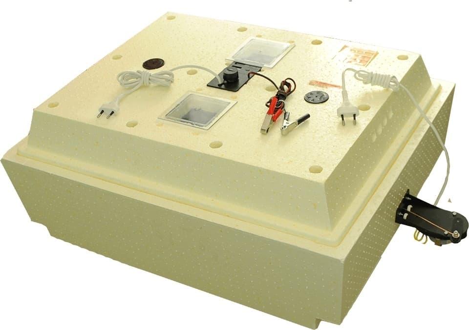 Инкубатор Золушка 70 яиц, автопереворот,220/12В, аналоговый терм., гигрометр - фото 6200