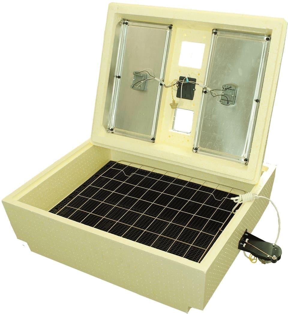 Инкубатор Золушка 70 яиц, автопереворот,220/12В, аналоговый терм., гигрометр - фото 6204