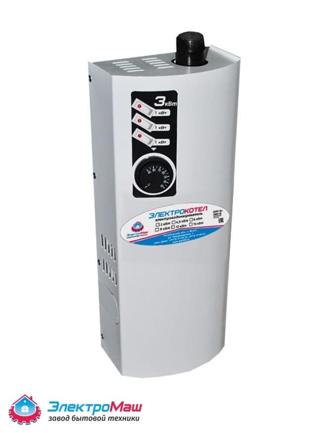 Электрокотел отопления Электромаш ЭВПМ - 3 кВТ - фото 6275
