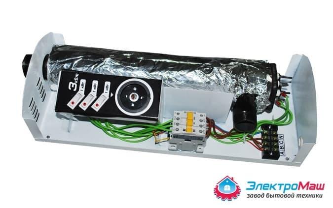 Электрокотел отопления Электромаш ЭВПМ - 3 кВТ - фото 6276