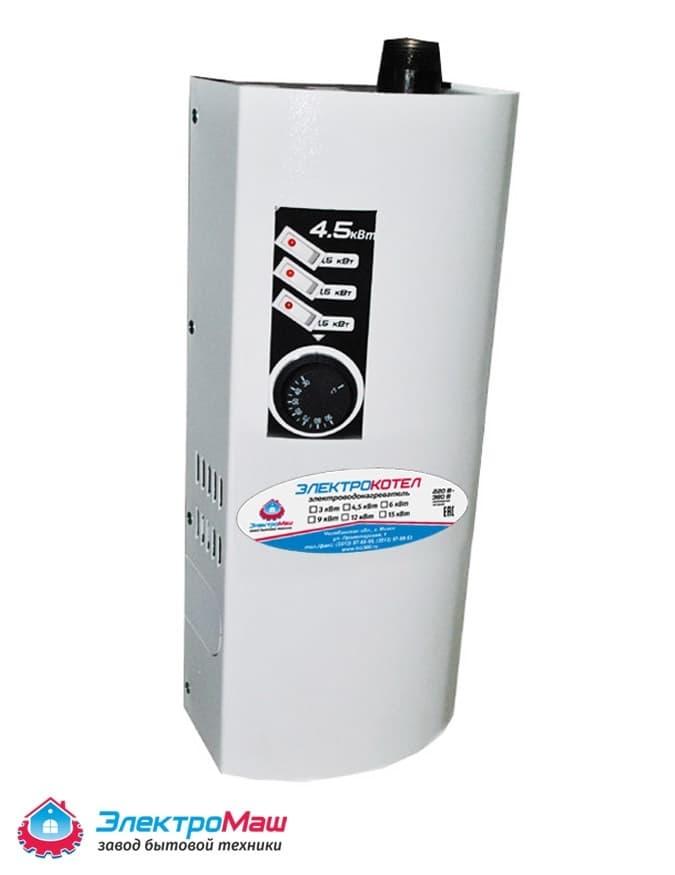 Электрокотел отопления Электромаш ЭВПМ - 4,5 кВТ - фото 6280