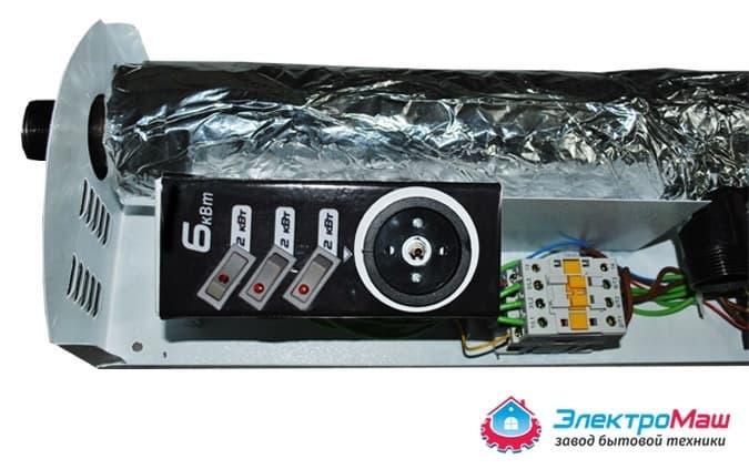 Электрокотел отопления Электромаш ЭВПМ - 6 кВТ - фото 6286