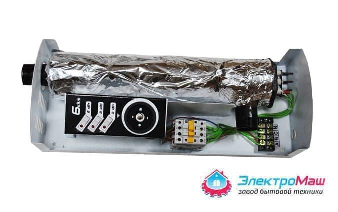 Электрокотел отопления Электромаш ЭВПМ - 6 кВТ - фото 6287