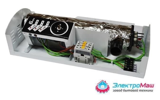Электрокотел отопления Электромаш ЭВПМ - 6 кВТ - фото 6288