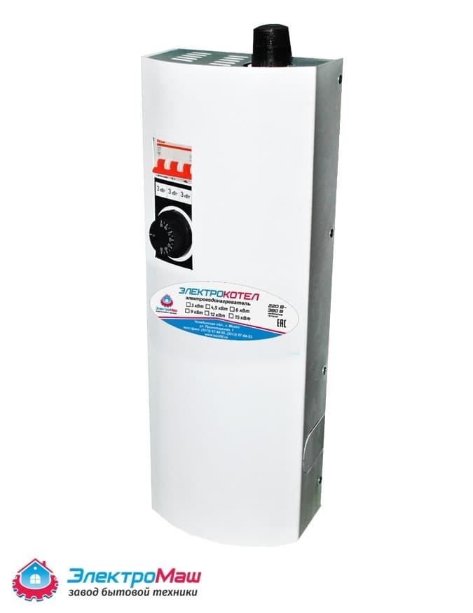 Электрокотел отопления Электромаш ЭВПМ - 9 кВТ - фото 6291