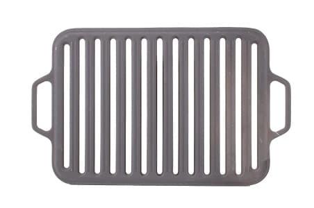 Решетка чугунная гриль для мангала 360х260х11 мм (Ситон) арт. РГ3626 - фото 6487