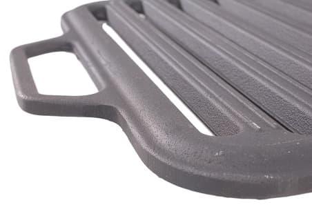 Решетка чугунная гриль для мангала 360х260х11 мм (Ситон) арт. РГ3626 - фото 6489