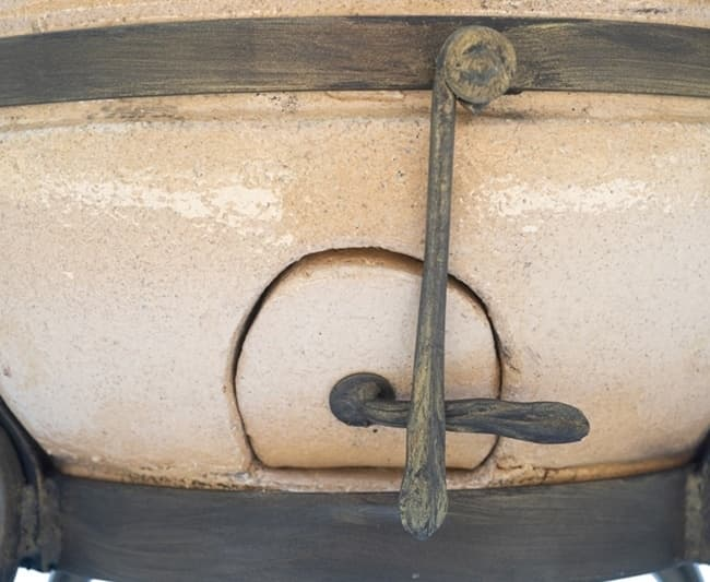 Тандыр Греческий, слоновая кость, крышка откидывается, Эко - фото 6788