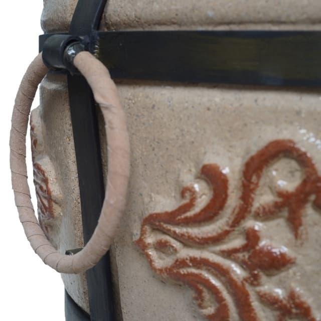 Тандыр Гранд с подставкой под крышку, слоновая кость, Эко - фото 6854