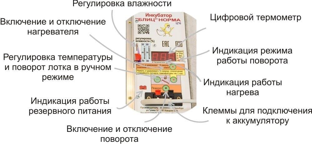 БЛИЦ инкубатор на 72 яйца Матрица Дели Цифровой купить
