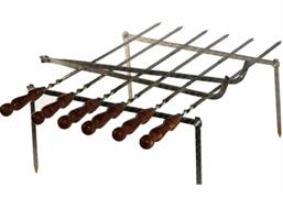 Таганок (полевой мангал) 500х12х3 мм. нержавеющая сталь