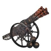 Шампурница кованная Пушка d-76 мм