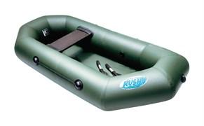 Фото лодки Rush 200 зеленой