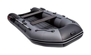 Моторно-гребная НДНД лодка Таймень NX 3600 PRO черного/графитового цвета для активного отдыха фото