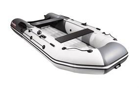 Моторно-гребная НДНД лодка Таймень NX 3600 PRO светло-серый/графит для активного отдыха фото