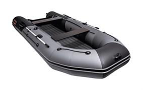 Моторно-гребная НДНД лодка Таймень NX 3600 PRO графит/черный для активного отдыха фото