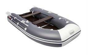ПВХ Лодка для рыбалки Таймень LX 3600 СК графит/светло-серый
