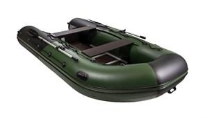 """Фото лодки ривьера максима 3600 ск """"комби"""" зеленый/черный"""