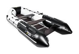 """лодка ривьера максима 3600 ск """"комби"""" светло-серый/черный фото"""