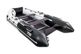 """лодка ривьера максима 3800 ск """"комби"""" светло-серый/черный фото"""