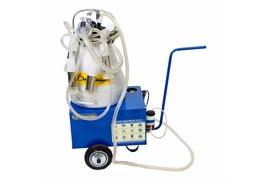 Доильный аппарат тандем для коров фермер разборная резина АДЭ-01 Т Майга