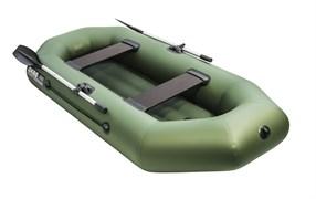 Лодка АКВА-ОПТИМА 260 НД зеленый фото