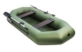 ПВХ Лодка Аква-оптима 260 зеленый фото