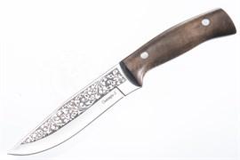 Нож Снегирь-2 Рукоять дерево сталь Aus-8 Арт.05025 Фото